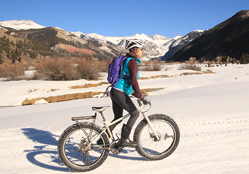 Fat Biking in Telluride