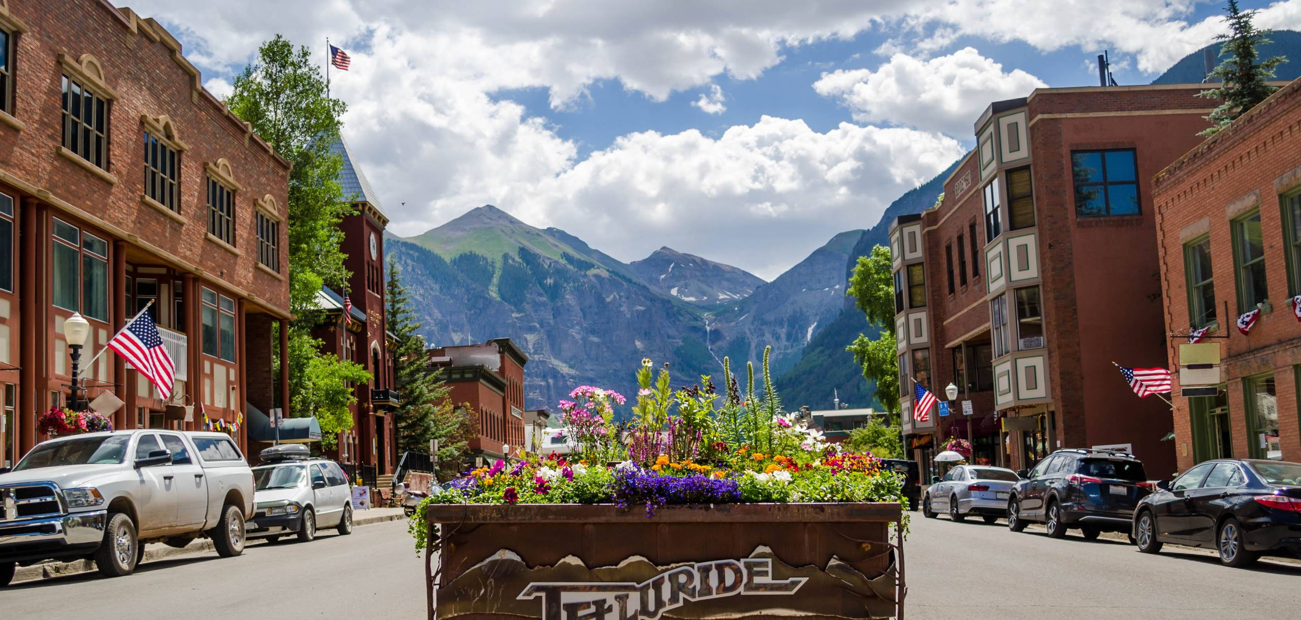 Bear Creek Lodge Summer Downtown Telluride