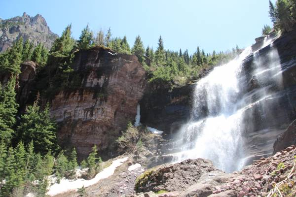 Bear Creek Falls in Telluride