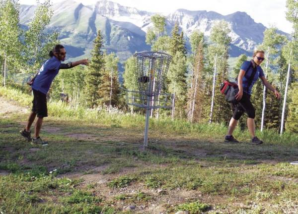 Disc Golf in Telluride
